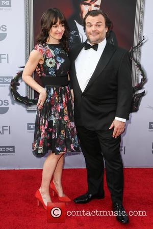 Tanya Haden and Jack Black - 43rd AFI Life Achievement Award Honoring Steve Martin at the Dolby Theatre at Dolby...