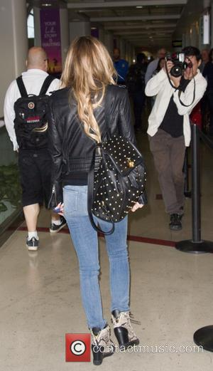 Carmen Electra - Carmen Electra at Los Angeles International Airport at LAX - Los Angeles, California, United States - Friday...