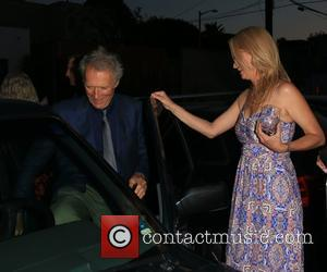 Clint Eastwood and Alison Eastwood
