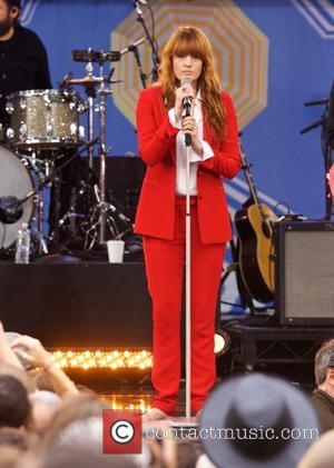Florence Welch - Florence and the Machine performing live in concert as part of 'Good Morning America's' 2015 Summer Concert...