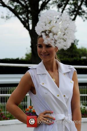 Vogue Williams - Investec Oaks 2015 - Ladies' Day at Epsom Epsom Downs Racecourse at Epsom Downs Racecourse - Epsom,...