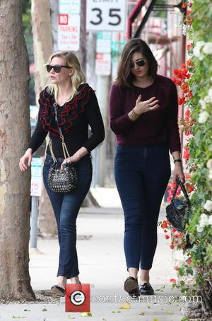 Kirsten Dunst - Kirsten Dunst goes shopping at A.P.C. in Beverly Hills with a friend - Los Angeles, California, United...