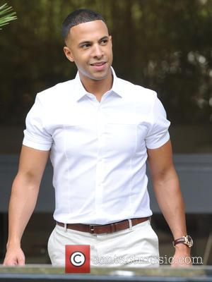Marvin Humes - Rochelle Humes and Marvin Humes seen leaving ITV Studios in London - London, United Kingdom - Friday...