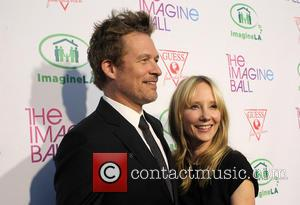 James Tupper and Anne Heche - The Imagine Ball held at the House of Blues - Arrivals at House of...