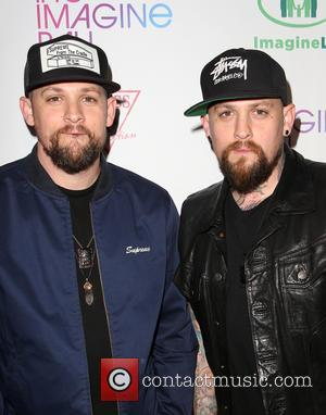 Joel Madden and Benji Madden - The Imagine Ball held at the House of Blues - Arrivals at House of...