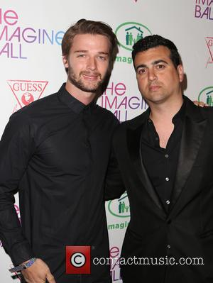 Patrick Schwarzenegger and John Terzian - The Imagine Ball held at the House of Blues - Arrivals at House of...