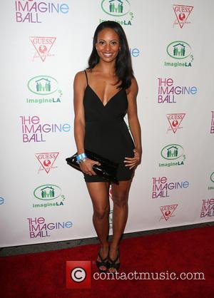 Candace Smith - The Imagine Ball held at the House of Blues - Arrivals at House of Blues - West...
