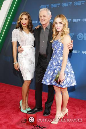 Ciara Renee, Victor Garber and Caity Lotz