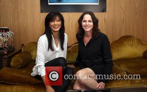 Kelly Hu and Jorja Fox