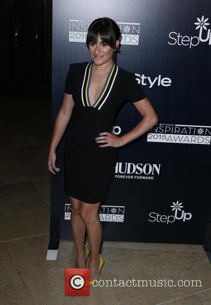 Lea Michele - Step Up Women's Network 12th Annual Inspiration Awards - Arrivals at The Beverly Hilton Hotel - Beverly...