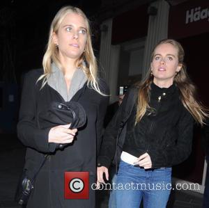Cressida Bonas - Cressida Bonas leaves the Leicester Square Theatre after her final performance in 'An Evening with Lucien Freud'...
