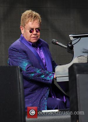 Sir Elton John - Sir Elton John performs at Eirias Stadiam at Eirias Stadiam - Colwyn Bay, United Kingdom -...