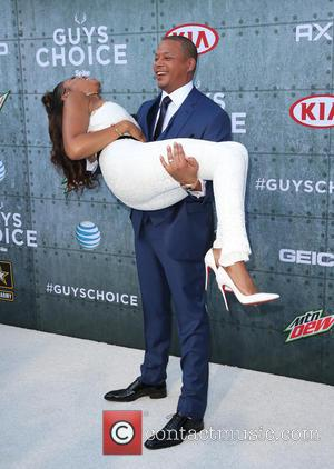 Terrence Howard and Taraji P. Henson - Spike TV's Guys Choice 2015 at Sony Pictures Studios - Arrivals at Sony...