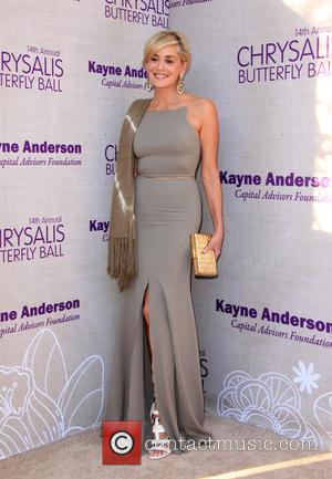 Sharon Stone - 14th Annual Chrysalis Butterfly Ball held at a private residence in the Brentwood County Estates. at Chrysalis...