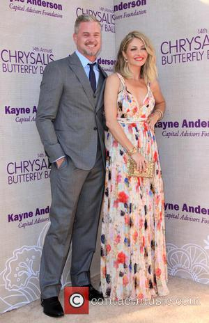 Eric Dane and Butterfly Ball Co-Chair Rebecca Gayheart-Dane
