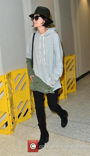 Jaimie Alexander - Jaimie Alexander arrives at Los Angeles International Airport (LAX) at Los Angeles International Airport - Los Angeles,...