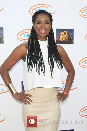 Tasha Smith - Lupus LA's Orange Ball: A Night Of Superheroes at Fox Studio Lot - Arrivals - Los Angeles,...
