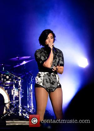 Demi Lovato - Digifest 2015 held at CitiField in Queens - New York, New York, United States - Sunday 7th...