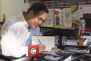 Jose Bono - Jose Bono signs copies of his book 'Diary of a Minister' at Madrid Book Fair 2015 at...
