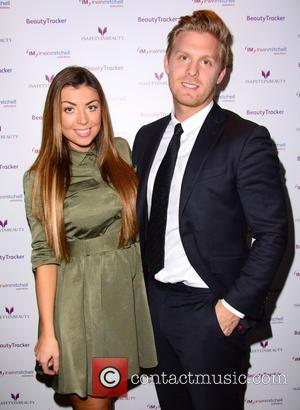 Abigail Clarke and Rob Davies - 'Safety In Beauty' app launch party held at the Wyld Bar at W Hotel...