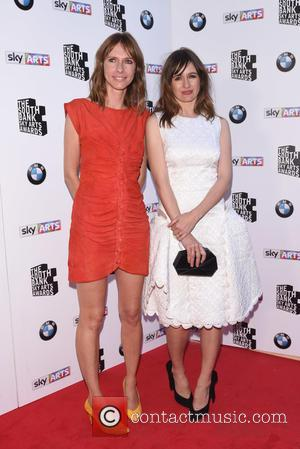 Emily Mortimer and Dolly Wells - South Bank Sky Arts Awards held at the Savoy, arrivals. at South Bank -...