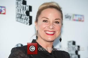 Tamzin Outhwaite - South Bank Sky Arts Awards held at the Savoy, arrivals. at South Bank - London, United Kingdom...