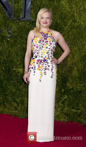 Elisabeth Moss - American Theatre Wing's 69th Annual Tony Awards at Radio City Music Hall - Red Carpet Arrivals at...