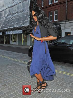 Naomi Campbell - Celebrities at Chiltern Firehouse in Marylebone - London, United Kingdom - Sunday 7th June 2015