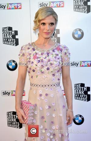 Emilia Fox - South Bank Sky Arts Awards at the Savoy Hotel - Arrivals at Savoy Hotel, South Bank -...