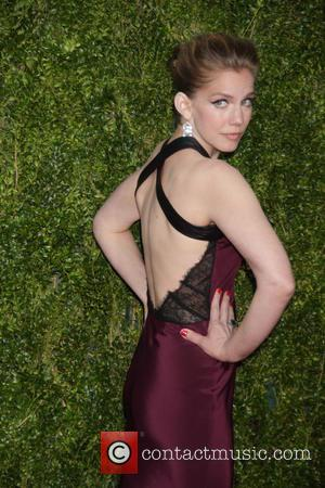 Anna Chlumsky - American Theatre Wing's 69th Annual Tony Awards at Radio City Music Hall - Red Carpet Arrivals at...