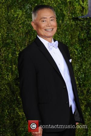 George Takei - 2015 Tony Awards - Red Carpet Arrivals at Tony Awards - New York City, New York, United...