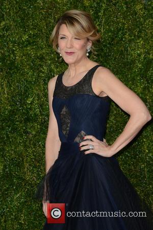 Victoria Clark - 2015 Tony Awards - Red Carpet Arrivals at Tony Awards - New York City, New York, United...