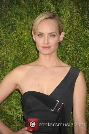 Amber Valletta - 2015 Tony Awards - Red Carpet Arrivals at Radio City Music Hall, Tony Awards - New York...