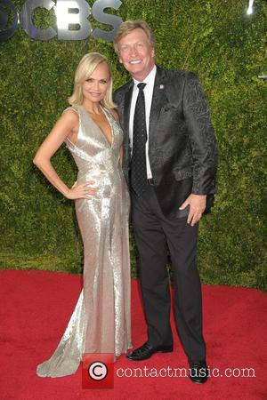 Kristin Chenoweth and Nigel Lithgoe