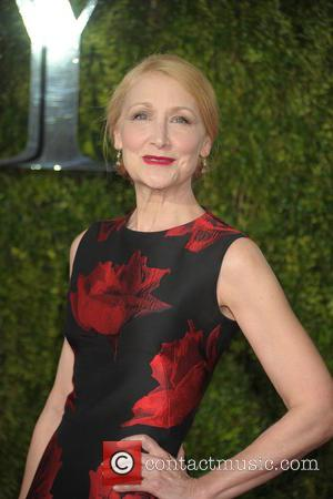 Patricia Clarkson - 2015 Tony Awards - Red Carpet Arrivals at Radio City Music Hall, Tony Awards - New York...