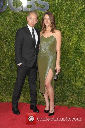 Jason Wu and Ashley Greene