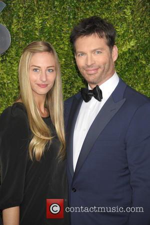 Georgia Connick and Harry Connick Jr.