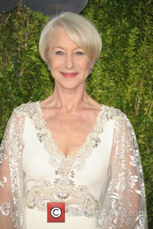 Helen Mirren - 2015 Tony Awards - Red Carpet Arrivals at Radio City Music Hall, Tony Awards - New York...