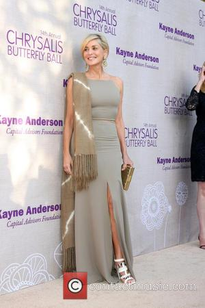 Sharon Stone - 14th Annual Chrysalis Butterfly Ball held at a Private Residence - Arrivals at Private Residence, Chrysalis Butterfly...