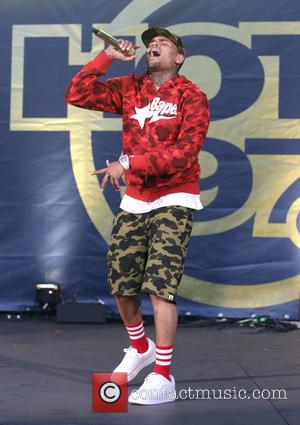 Chris Brown - Hot 97 Summer Jam held at the MetLife Stadium - Performances at MetLife Stadium - East Rutherford,...