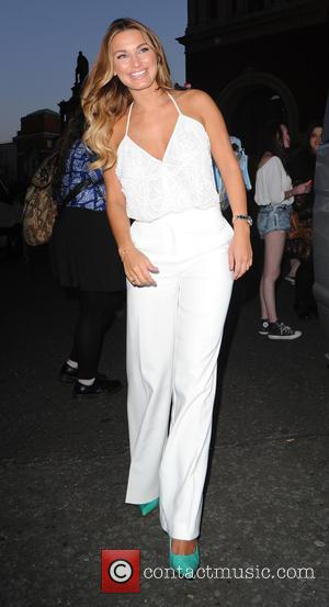 Sam Faiers - Ray of Sunshine concert at the Royal Albert Hall - Departures at Royal Albert Hall - London,...