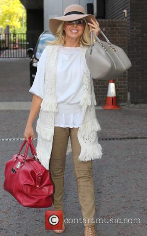 Carol Vorderman - Carol Vorderman outside ITV Studios - London, United Kingdom - Monday 8th June 2015