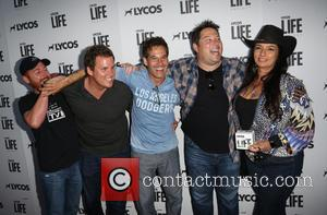 Scott Grimes, Bob Guiney, Adrian Pasdar Greg Grunberg and Alice Amter