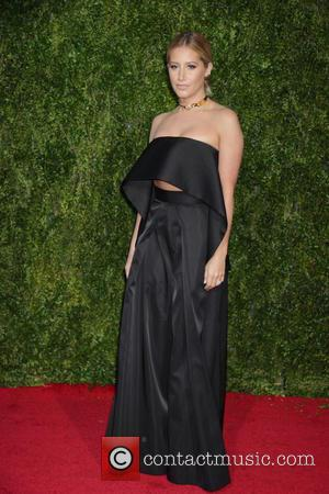 Ashley Tisdale - American Theatre Wing's 69th Annual Tony Awards at Radio City Music Hall - Red Carpet Arrivals at...