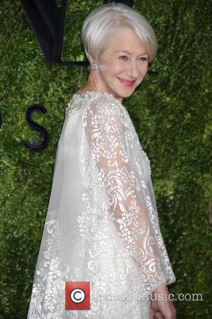 Helen Mirren - American Theatre Wing's 69th Annual Tony Awards at Radio City Music Hall - Red Carpet Arrivals at...