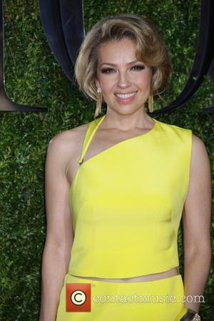 Thalia - American Theatre Wing's 69th Annual Tony Awards at Radio City Music Hall - Red Carpet Arrivals at Radio...