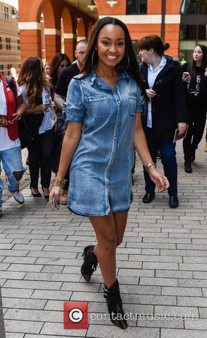 Leigh-Anne Pinnock - Little Mix radio tour in Birmingham at Capital FM Radio - Birmingham, United Kingdom - Monday 8th...