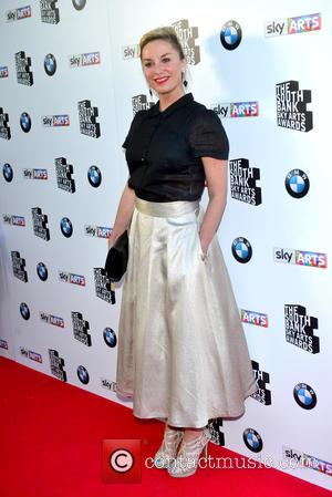 Tamzin Outhwaite - the South Bank Sky Arts Awards at the Savoy Hotel London 7th June 2015 at Savoy Hotel,...
