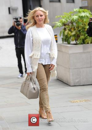 Carol Vorderman - Carol Vorderman out and about in London - London, United Kingdom - Tuesday 9th June 2015