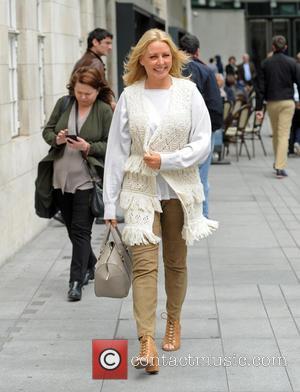 Carol Vorderman - Carol Vorderman at The BBC - London, United Kingdom - Tuesday 9th June 2015